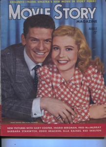 Movie Story-Frank Sinatra-Gloria DeHaven-Ingrid Bergman-Horror-Aug-1944
