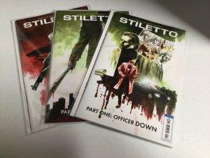 Stiletto 1 2 3 Nm Near Mint Lion Forge Comics