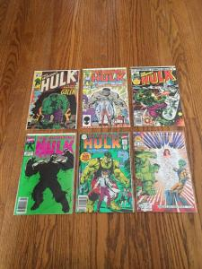 Cool incredible hulk comic book lot