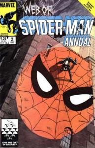 Web of Spider-Man (1985 series) Annual #2, VF- (Stock photo)