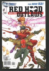 RED HOOD AND THE OUTLAWS #1 (2011) NM 'SPEC DECK!;TITANS S3??