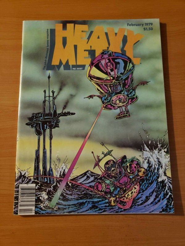 Heavy Metal Vol. 2 #10 ~ NEAR MINT NM ~ February 1979 illustrated Magazine