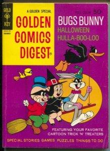 Golden Comics Digest #26 1972-Bugs Bunny Halloween-Porky Pig-FN