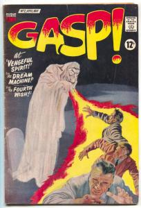 Gasp! #2 1967- Frankenstein & Dracula- VG