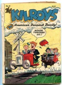 The Kilroys #8 1948--1st appearance of Moronica by Milt Gross- FAIR