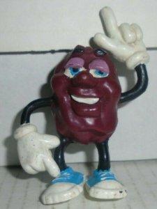 Justin X Grape California Raisins Original Hardee's 1987 CALRAB