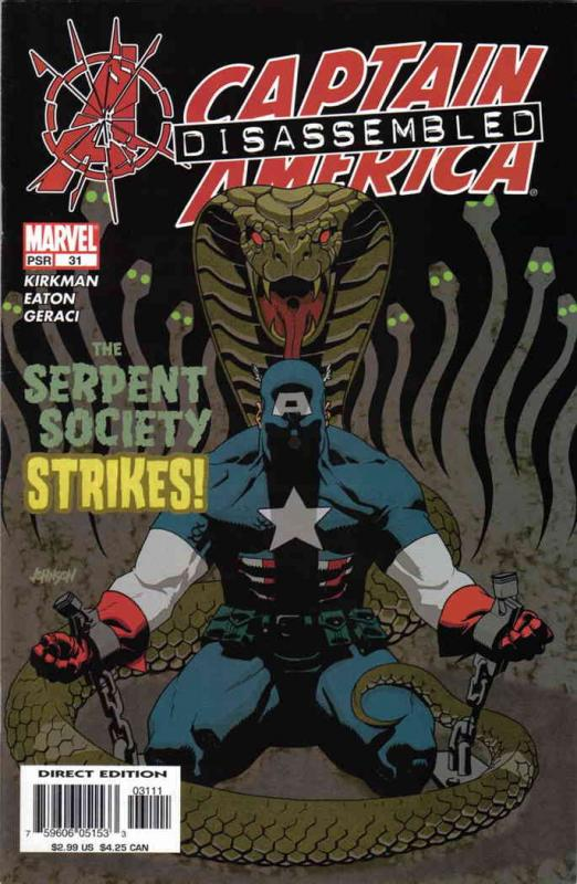 Captain America (4th Series) #31 VF/NM; Marvel | save on shipping - details insi
