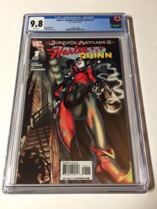 Jokers Asylum 2 II Harley Quinn 1 Cgc 9.8 White Pages