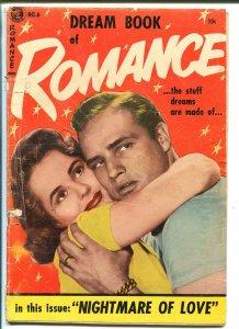 DREAM BOOK OF ROMANCE #6 1954-ME-MARLON BRANDO-SWIMSUIT-BOB POWELL-good