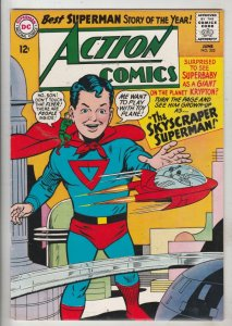 Action Comics #325 (Jun-65) VF+ High-Grade Superman, Supergirl