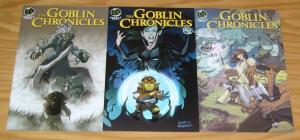 Goblin Chronicles #1-3 VF/NM complete series ALL B VARIANTS ape entertainment 2