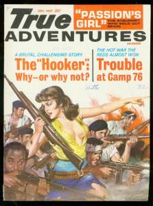 TRUE ADVENTURES DEC 1963-SPICY DE SOTO COVER-HOOKER FN/VF