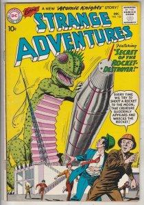 Strange Adventures #123 (Dec-60) NM- High-Grade Atomic Knights