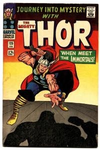 Journey Into Mystery #125 1966-comic book thor-marvel-jack kirby