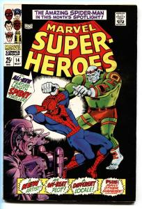 MARVEL SUPER-HEROES #4-Reprints JACK KIRBY Mercury story from RED RAVEN #1