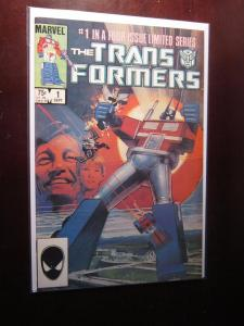 The Transformers (In A Four Issue Limited Series) #1 - 8.5 VF+ - 1984
