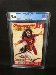Spider-Woman #1 (Marvel, 2015) CGC 9.6