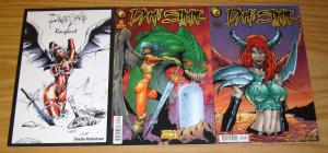 Dark Shrine #1-2 FN complete series +variant SHELBY ROBERTSON antarctic press