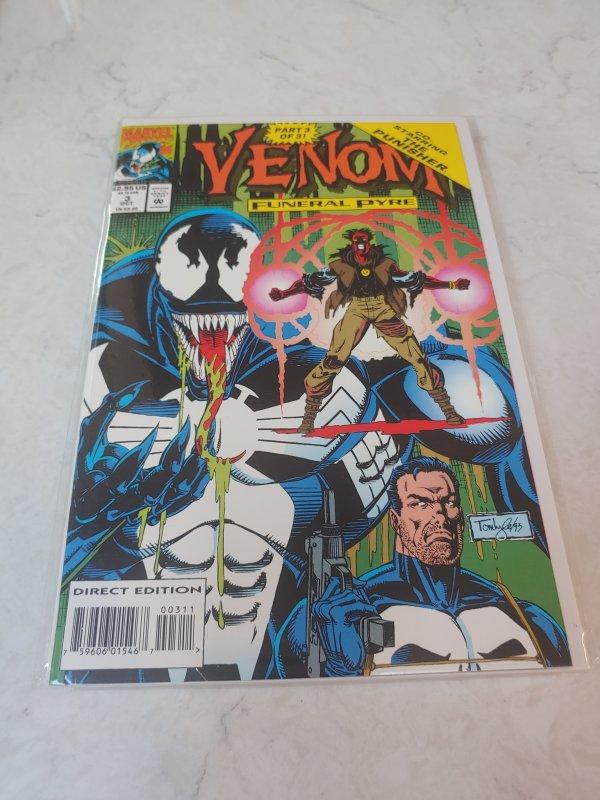 Venom: Funeral Pyre #3 (1993)