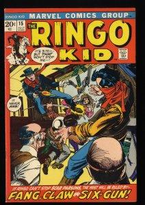 Ringo Kid #15 FN/VF 7.0