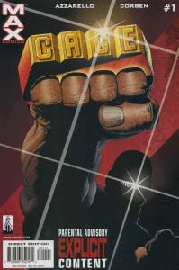 Cage (2nd series) #1 VF/NM; Marvel   save on shipping - details inside