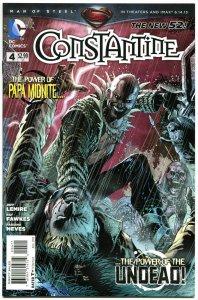 CONSTANTINE #4, NM,  John, Hellblazer, 2013, Jeff Lemire,New 52 DC,more in store