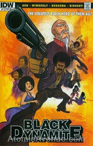 Black Dynamite #1A VF/NM; IDW | save on shipping - details inside
