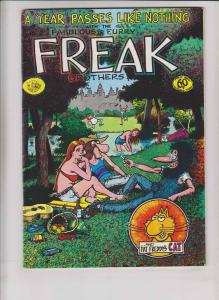 Freak Brothers #3 FN+ british import version - gilbert shelton - rip off 1976
