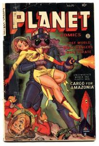 Planet #70 -1953-Fiction House-GGA cover-Golden-Age-Comic book