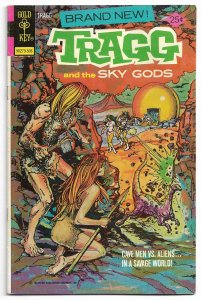 Tragg and the Sky Gods #1 (F-VF) Copper Age Painted Cover 1975