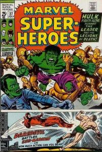 Marvel Super-Heroes (1967 series) #27, VF- (Stock photo)