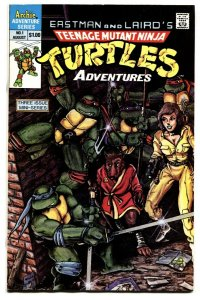TEENAGE MUTANT NINJA TURTLES ADVENTURES #1 First appearance KRANG