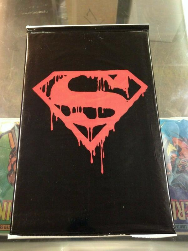 Superman 75 Death of Superman sealed Black Bag edition