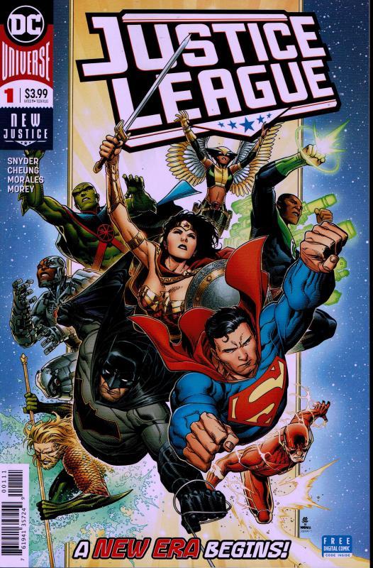 Justice League #1 - NM - 2018