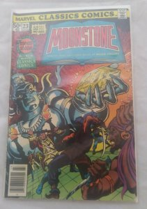Marvel Classics Comics #23 (1977) MOONSTONE 52 FULL PAGES WILKIE COLLINS FN+