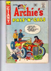 Archie's Pals 'n' Gals #19 (Dec-61) VG- Affordable-Grade Archie, Betty, Veron...