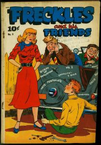 Freckles and His Friends #9 1949- LP Teen humor VG-