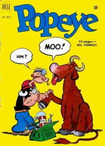 Popeye #15 GD; Charlton   low grade comic - save on shipping - details inside