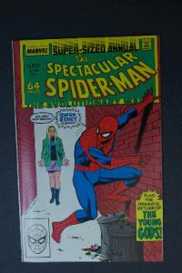 Peter Parker Spider-Man Super-Sized Annual #8 1988