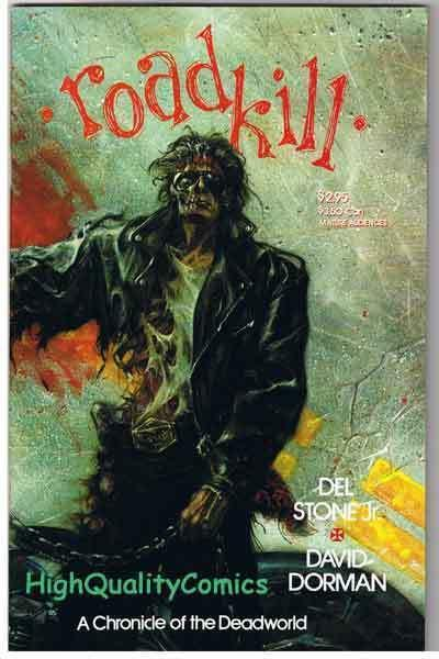 DEADWORLD : ROADKILL, NM, Dorman, Zombies, Undead, 1993