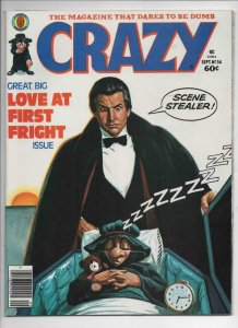 CRAZY #54 Magazine, VF, Vampire, Fantasy Island, 1973 1979, more in store