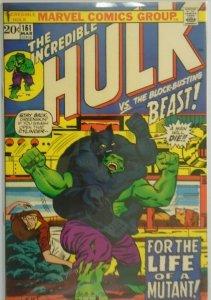 The Incredible Hulk #161 - 7.0 FN/VF - 1973