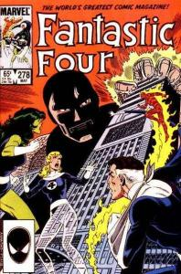 Fantastic Four (1961 series) #278, VF+ (Stock photo)