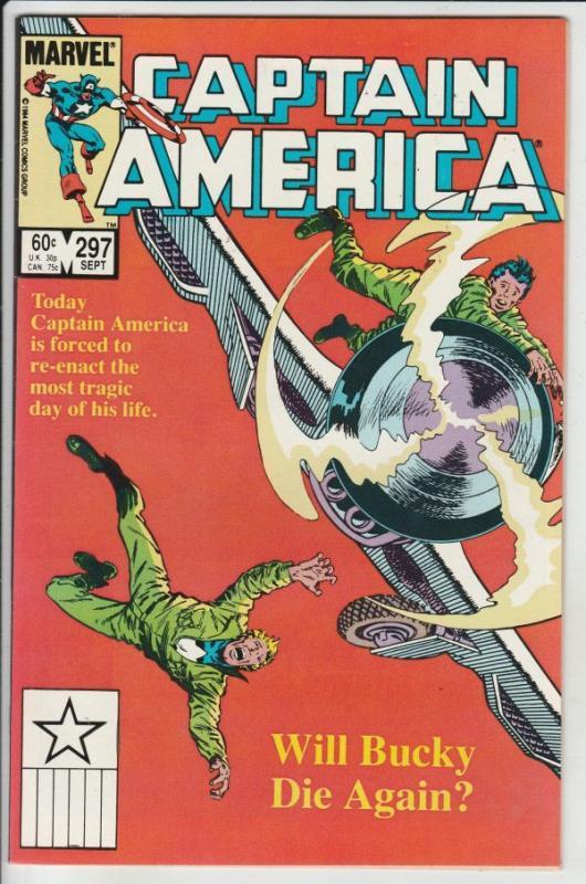 Captain America #297 (Sep-84) NM/NM- High-Grade Captain America