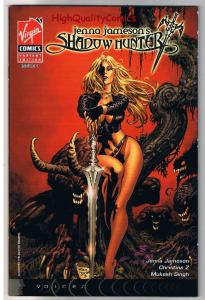 JENNA JAMESON'S SHADOW HUNTER #1, NM+, Mike Deodato, 2007, more in store
