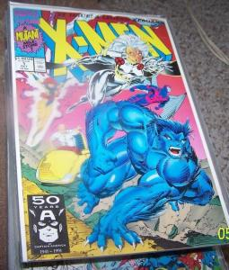 X Men  # 1 (Oct 1991, Marvel)  beast storm prof x  archangel cover