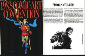 COMIC ART CONVENTION 1982 VG-F CAMELOT COLOR COVER