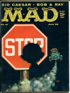 MAD #47-KELLY FREAS COVER-WOOD-ORLANDO-MARTIN-1959-vf