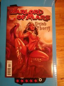 Warlord of Mars Dejah Thoris #11 cover B (Dynamite, 2012)Fabiano Neves