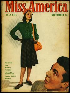 Miss America Vol. 4 #5 1946- Timely Comics- Patsy Walker- Fashions VG